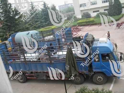 山东潍坊弘润石化助剂有限公司凝结水处理设备完成交货