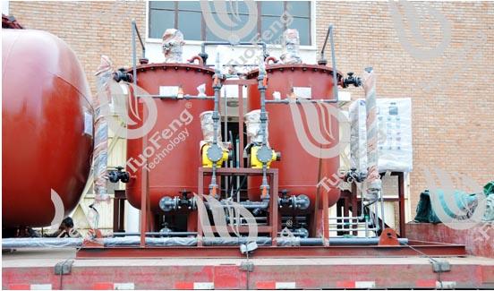 AG亚游集团官网完成与中石化塔河有限公司凝结水处理装置最后一批发货